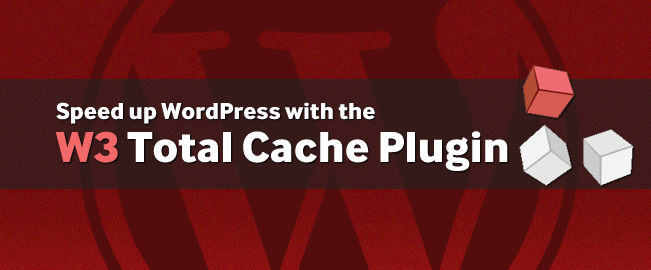 Wordpress Plugins W3 Total Cache