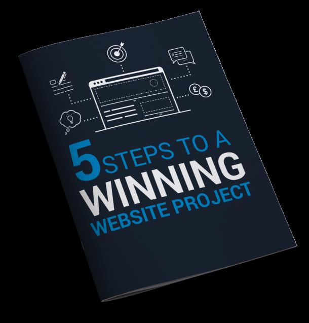 Winning web design project